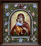Феодоровская икона из финифти
