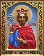 Резная икона Константин равноапостольный