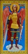 Резная икона Архангел Михаил 2