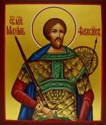 Рукописная икона Максим Фракийский