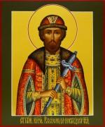 Рукописная икона Всеволод Новгородский