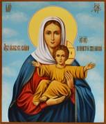 Рукописная икона Азъ Есмь Леушинская 2