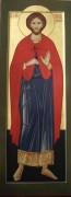 Рукописная икона Трофим Ликийский мученик