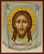 Рукописная икона Спас Нерукотворный 8