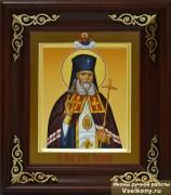 Рукописная икона Лука Крымский (Войно-Ясенецкий) 2