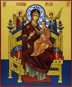 Рукописная икона Всецарица 3