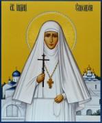 Рукописная икона Елизавета Федоровна 2 (Размер 17*21 см)