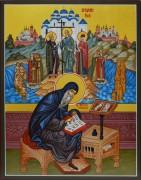 Рукописная икона Нестор Летописец 2