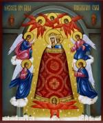 Рукописная икона Прибавление Ума 3