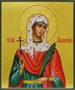 Рукописная икона Валентина Кесарийская 3