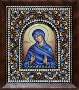 Икона из финифти Евгения преподобномученица