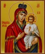Рукописная икона Оршанская