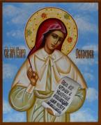 Рукописная икона Кира Оболенская 2