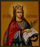 Рукописная икона Екатерина под старину 2