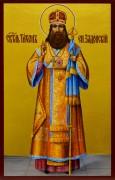 Рукописная икона Тихон Задонский 2