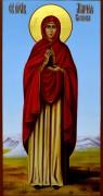 Рукописная икона Мария Клеопова мироносица
