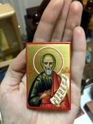 Рукописная икона Елисей Пророк 2
