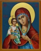 Рукописная икона Праворучица