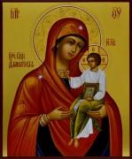 Рукописная икона Далматская Божия Матерь
