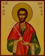 Рукописная икона Андрей Лампсакский Лампсакийский