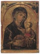 Рукописная икона Алтарница