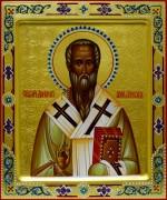Рукописная икона Дионисий Александрийский 2