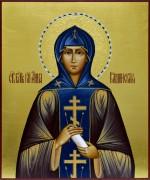 Рукописная икона Анна Кашинская 2