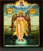 Рукописная икона Ангела Хранителя маслом 19