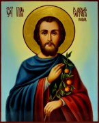Рукописная икона Евфросин Повар