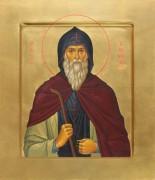Рукописная икона Марк Печерский Гробокопатель 2
