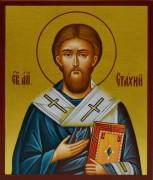 Рукописная икона Апостол Стахий