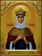 Рукописная икона Феофания царица