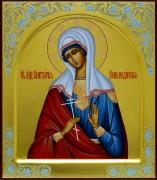 Рукописная икона Виктория Никомидийская 2