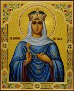 Рукописная икона княгиня Ольга 7