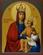 Рукописная икона Шестоковская