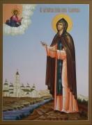 Рукописная икона Анна Кашинская 4