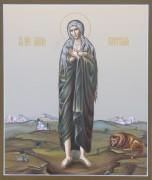 Рукописная икона Мария Египетская 2