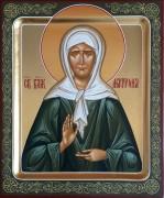 Рукописная икона Матрона Московская 9