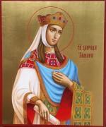 Рукописная икона царица Тамара 3