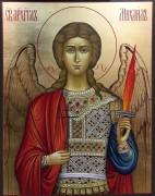 Рукописная икона Архангел Михаил 5