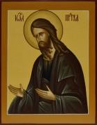 Рукописная икона Иоанн Предтеча под старину