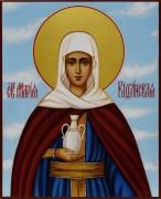 Рукописная икона Мария Вифанская 2
