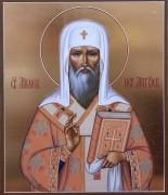 Рукописная икона Михаил митрополит Московский