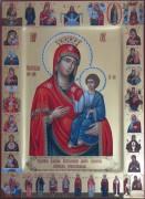 Рукописная икона Иверская 5
