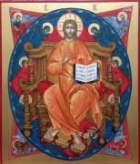 Рукописная икона Спас в Силах 2