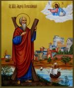 Рукописная икона Андрей Первозванный 5