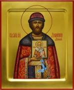 Рукописная икона Дмитрий (Димитрий) Донской 5