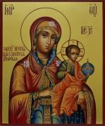 Рукописная икона Цесарская