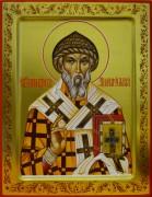 Рукописная икона Спиридон Тримифунтский 7 (Размер 22*28 см)