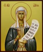 Рукописная икона Дарья (Дария) Римская 2